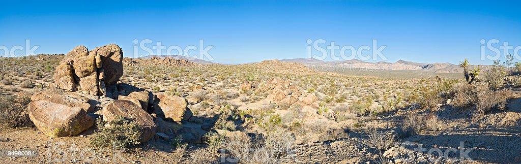 Quiet wilderness panorama royalty-free stock photo