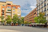 quietest central street  in Madrid