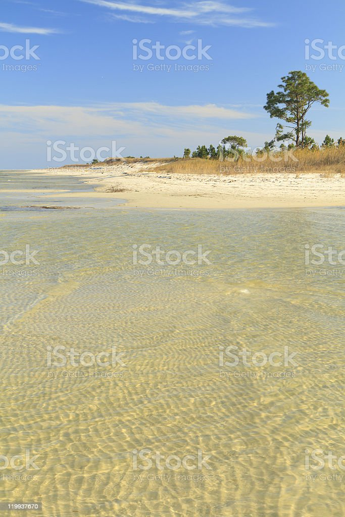 Quietwater Sandbar stock photo