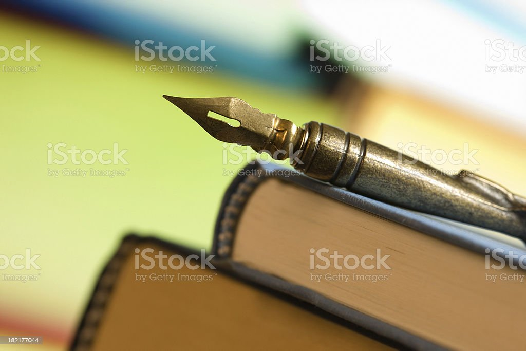 Quill Pen royalty-free stock photo