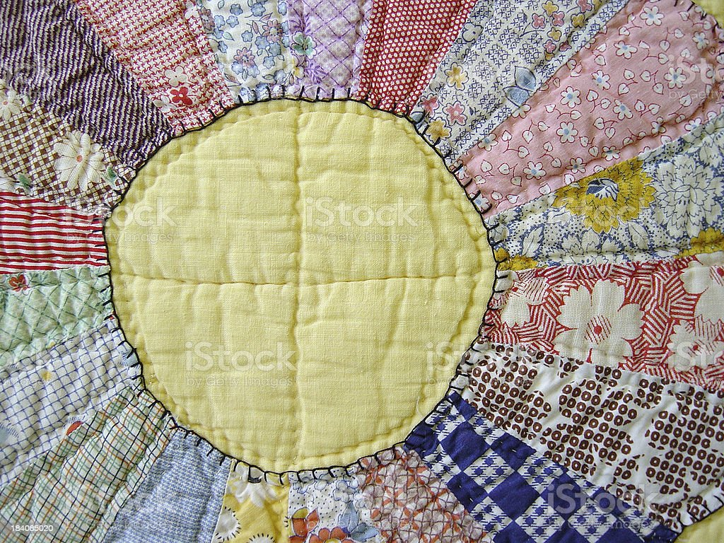 Quilt Abstraction II stock photo