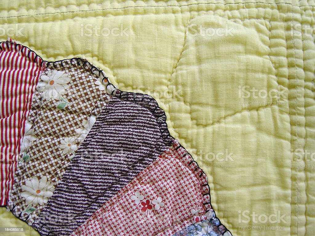 Quilt Abstraction VI stock photo