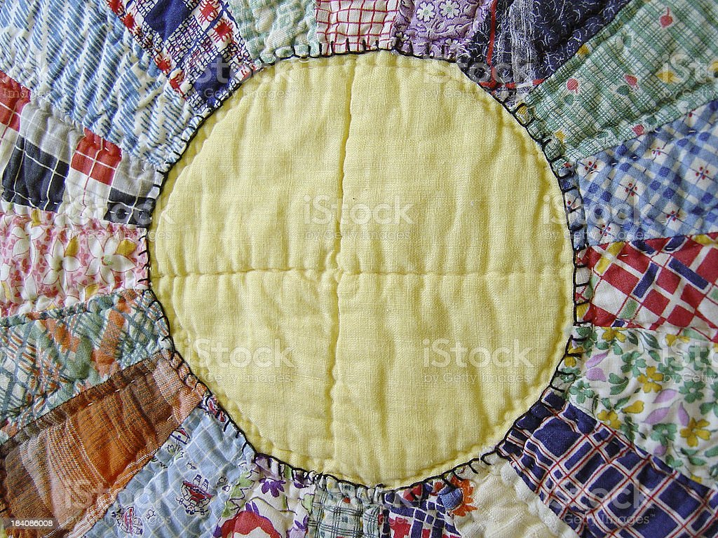 Quilt Abstraction VII stock photo