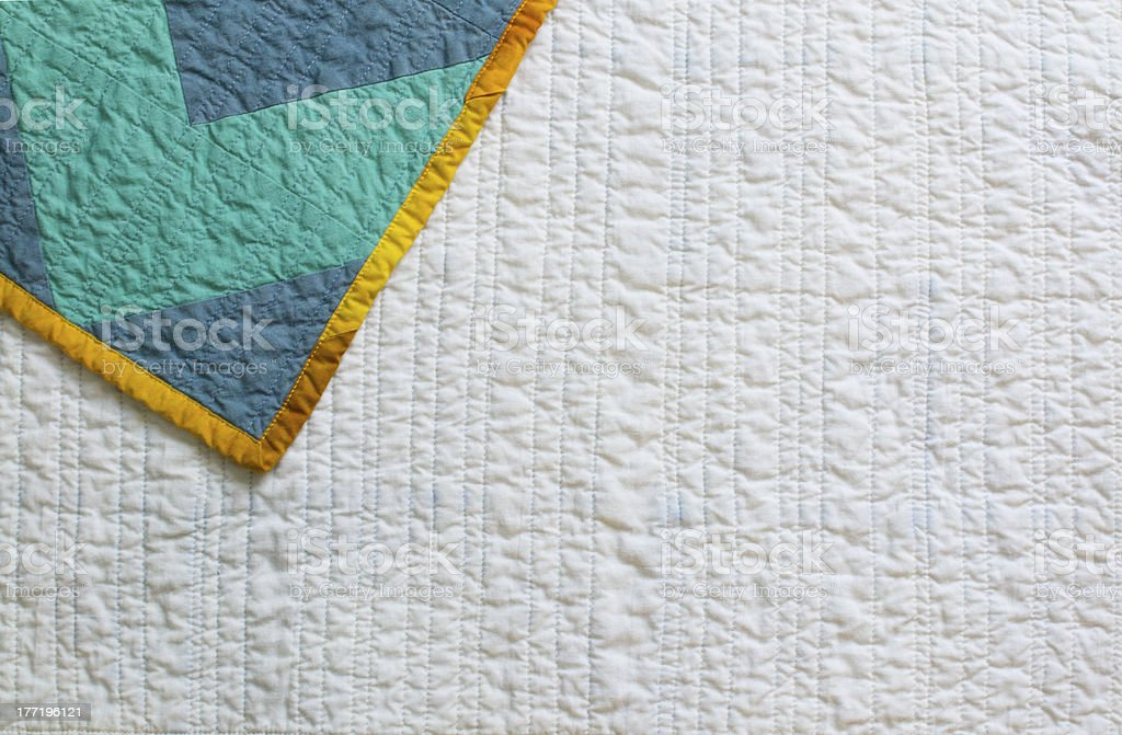 Quilt Back stock photo