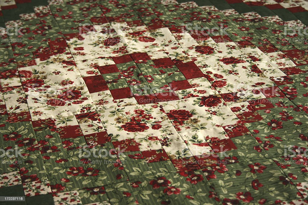 Quilt aa Christmas Around the World stock photo