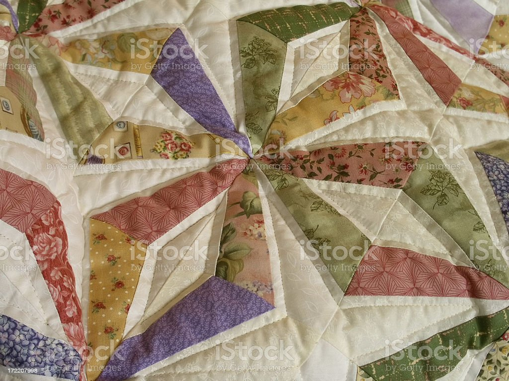 Quilt - Endless Chains royalty-free stock photo