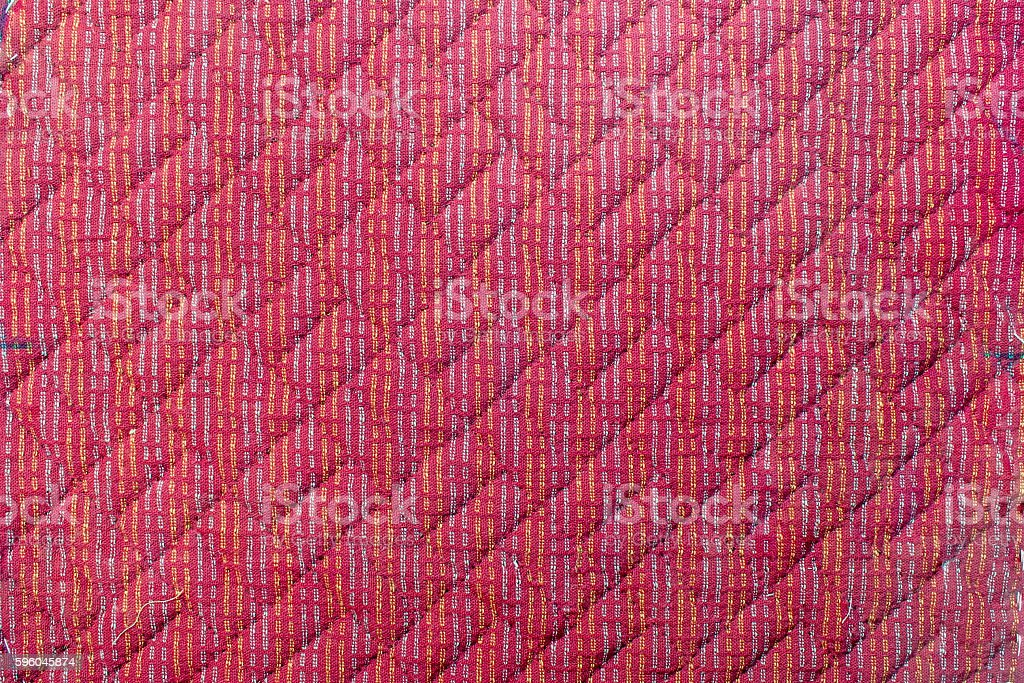 Quilt : Pattern stock photo