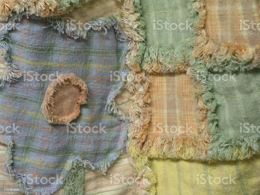Quilt - Pick A Posy stock photo