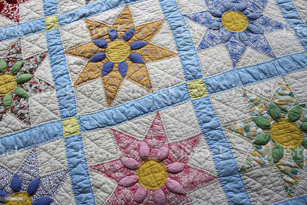 Quilt Series 1 stock photo
