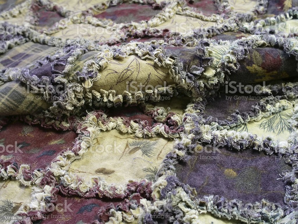 Quilt - Shoofly Raggy royalty-free stock photo