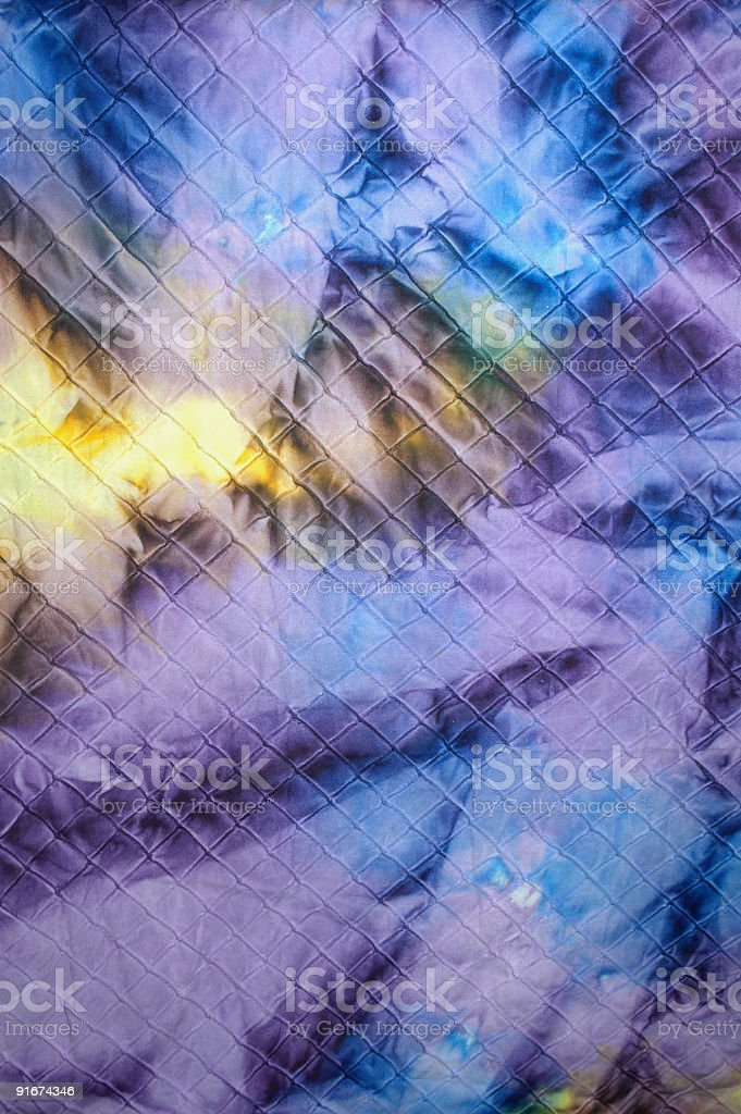 Quilt Tie Dye 2 royalty-free stock photo