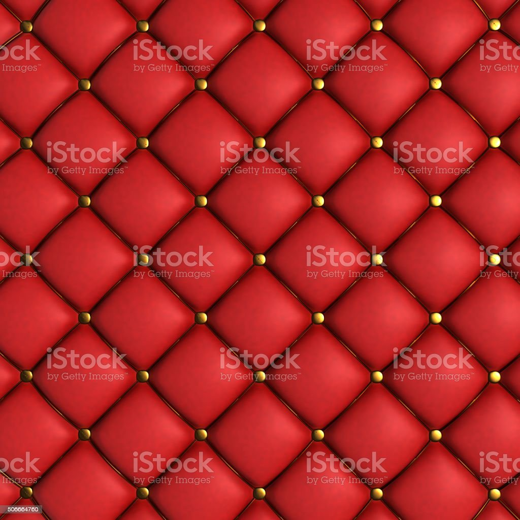 Quilted Leather Background stock photo