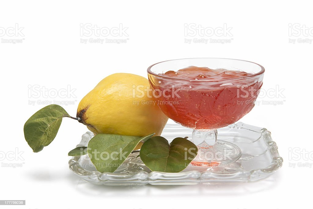 Quince jelly royalty-free stock photo