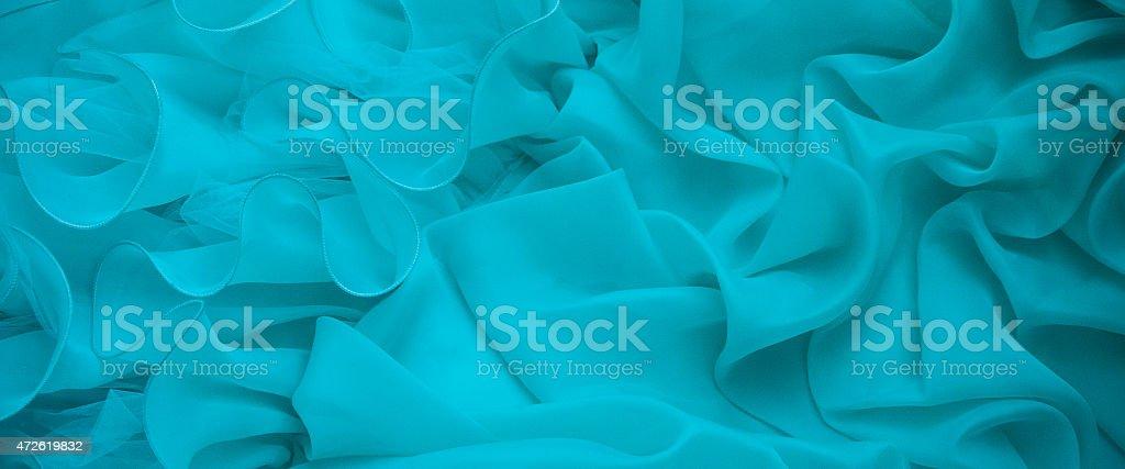 Quinceañera blue swirl background stock photo