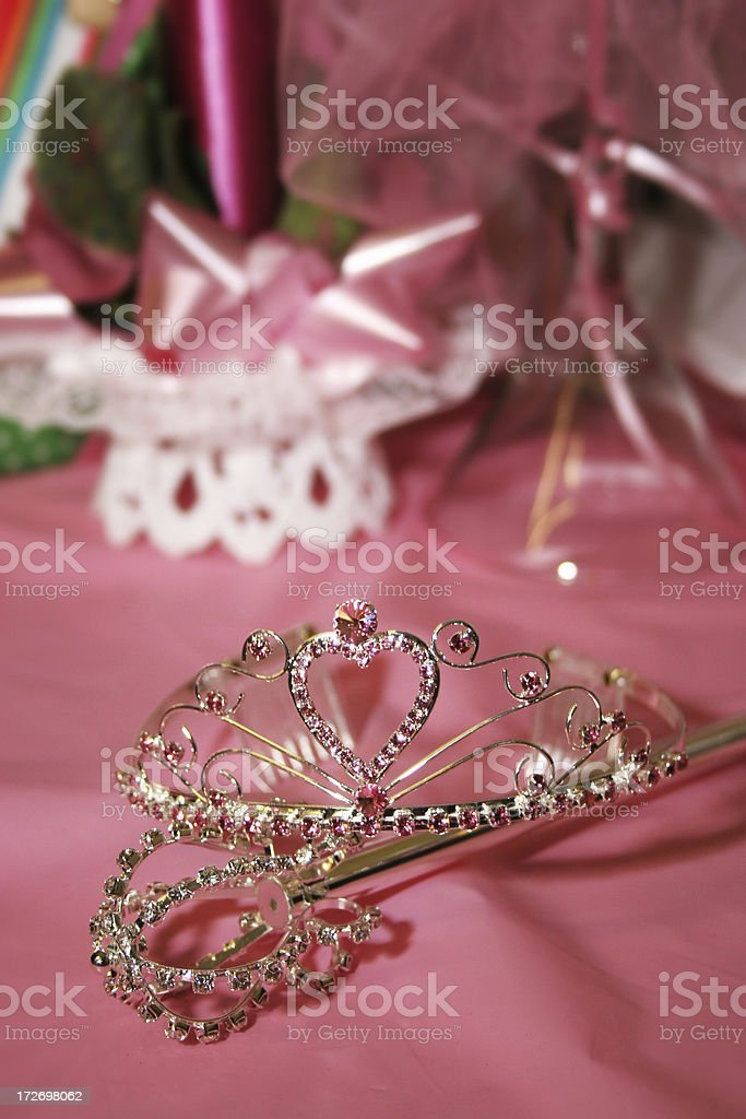 Quinceanera Crown royalty-free stock photo