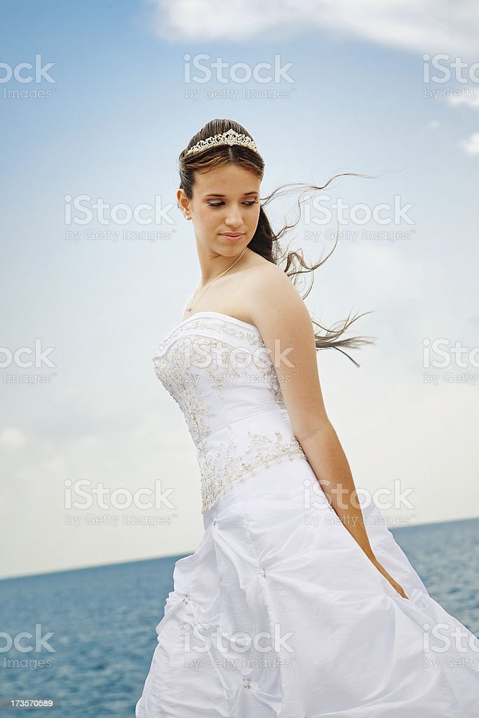 quinceanera royalty-free stock photo