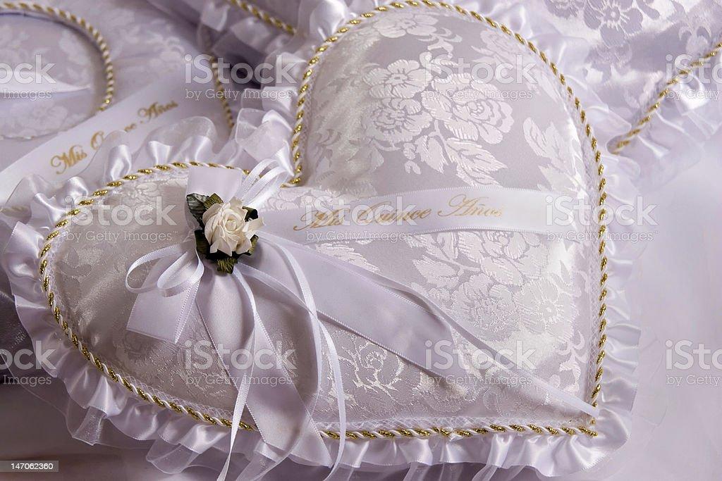 Quinceanera Pillow stock photo