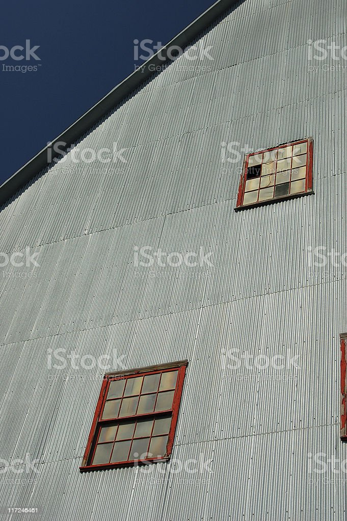 Quincy shaft house detail royalty-free stock photo