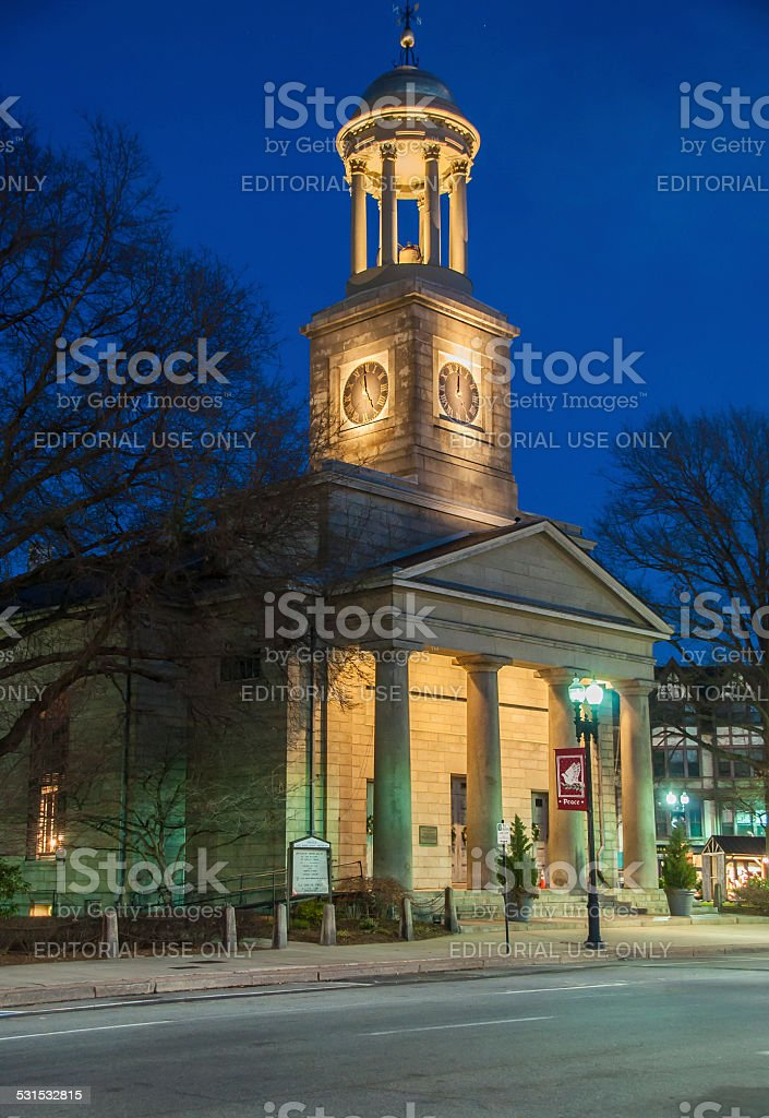 Quincy's Church Of The Presidents stock photo