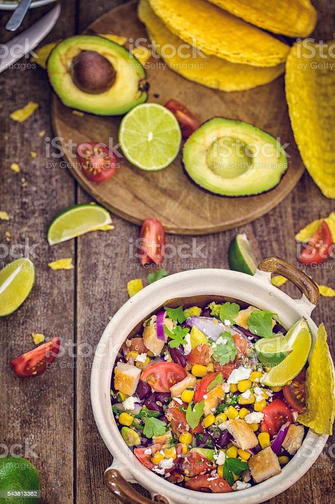 Quinoa Chicken Chipotle stock photo