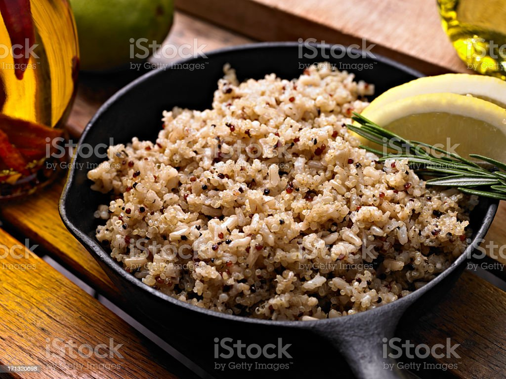 Quinoa stock photo