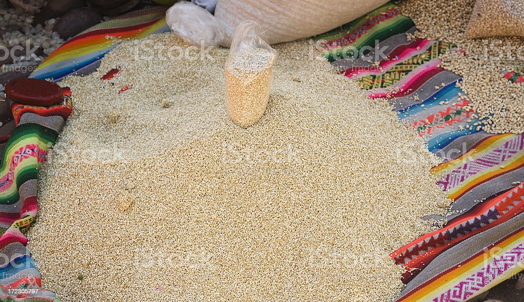 Quinoa royalty-free stock photo