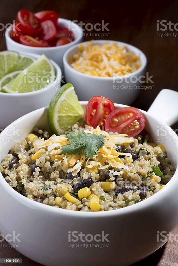 Quinoa Salad royalty-free stock photo