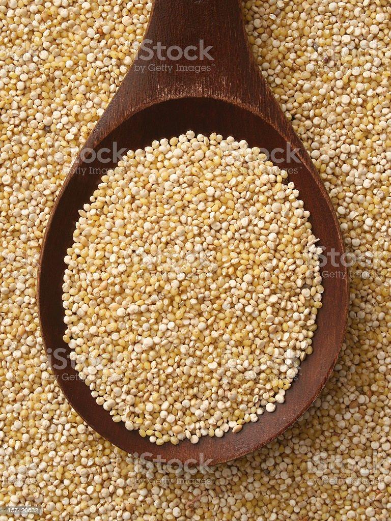 Quinoa seeds stock photo