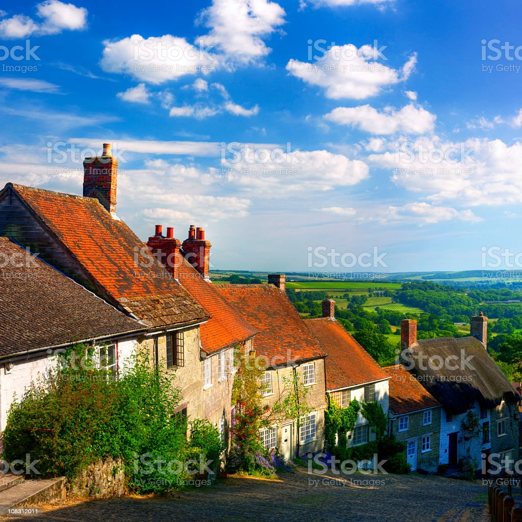 Quintessential English Scene royalty-free stock photo