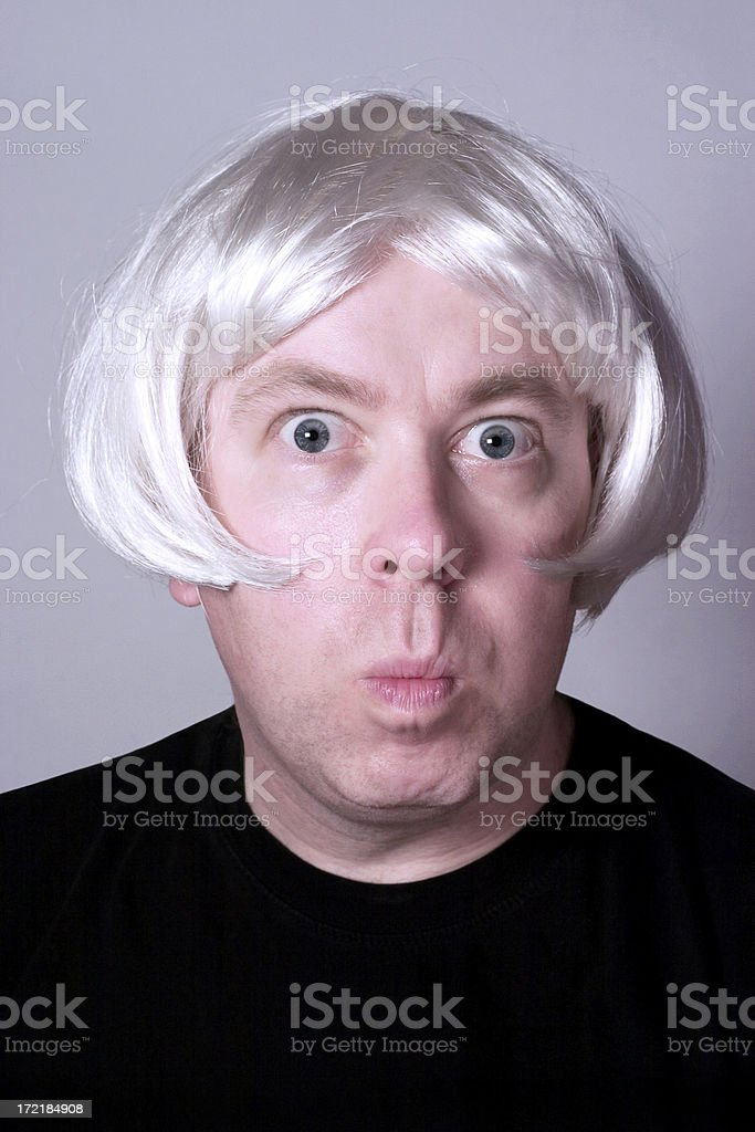Quintessential Quentin - Comical Caricature royalty-free stock photo