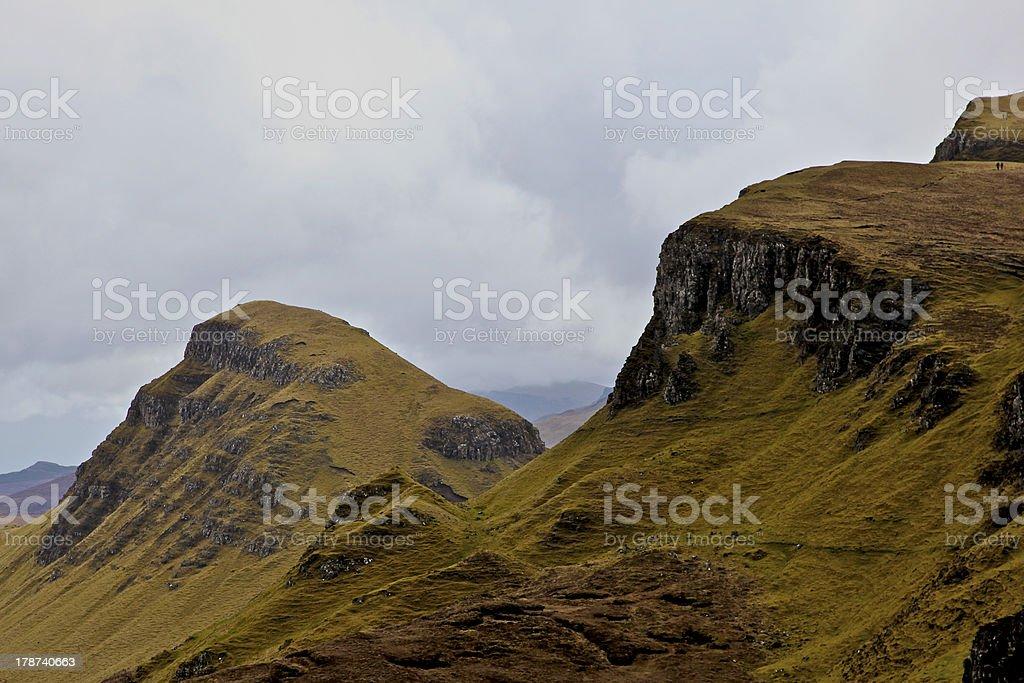 Quiraing, Isle of Skye stock photo