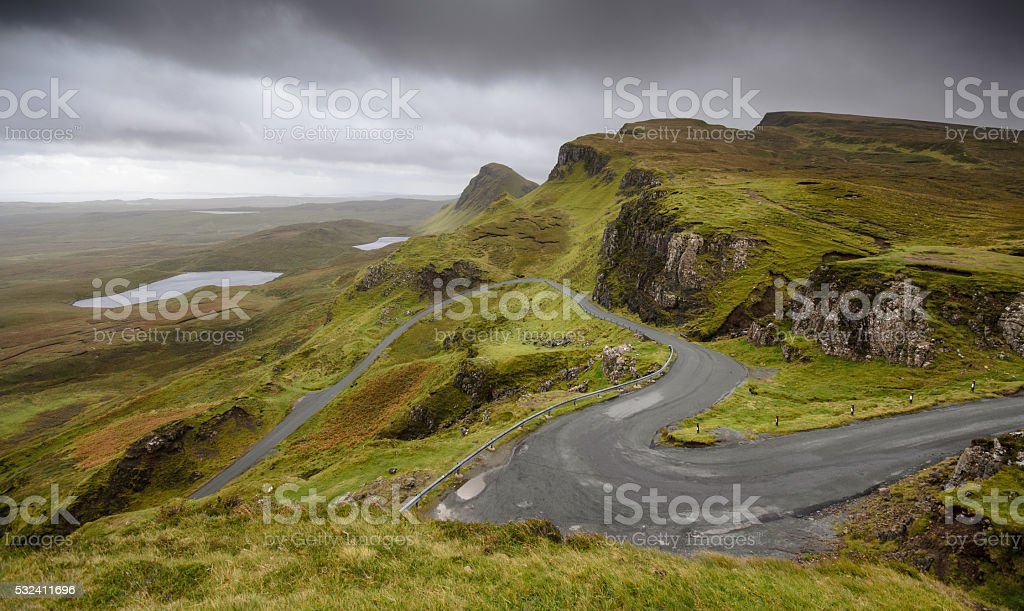 Quiraing stock photo