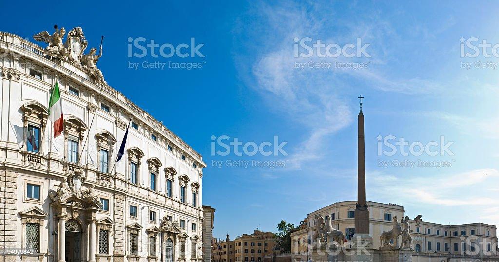 Quirinale, Roma royalty-free stock photo