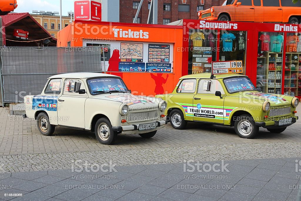 Quirky Berlin stock photo