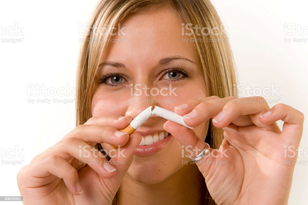 Quit Smoking! royalty-free stock photo