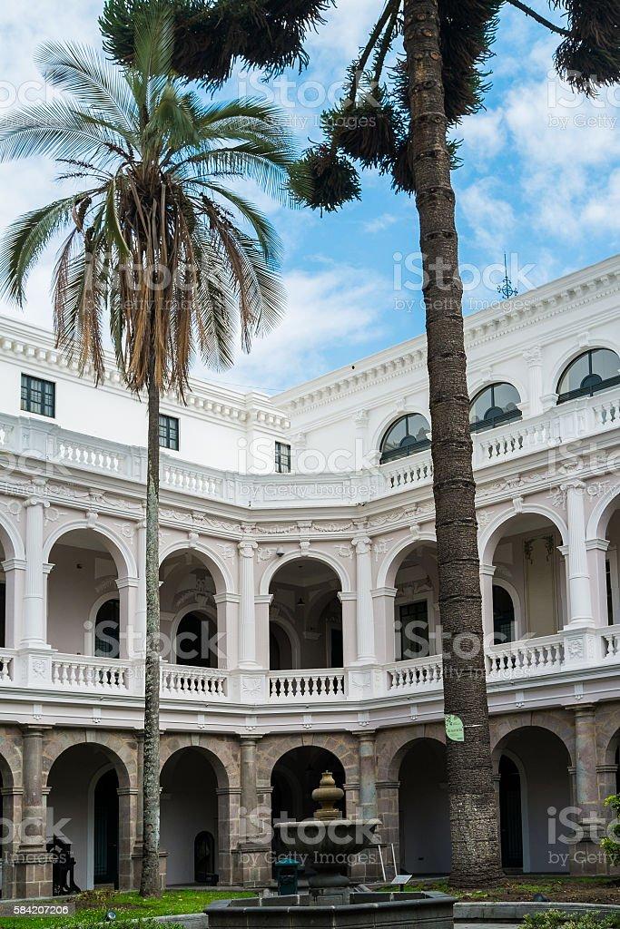 Quito stock photo