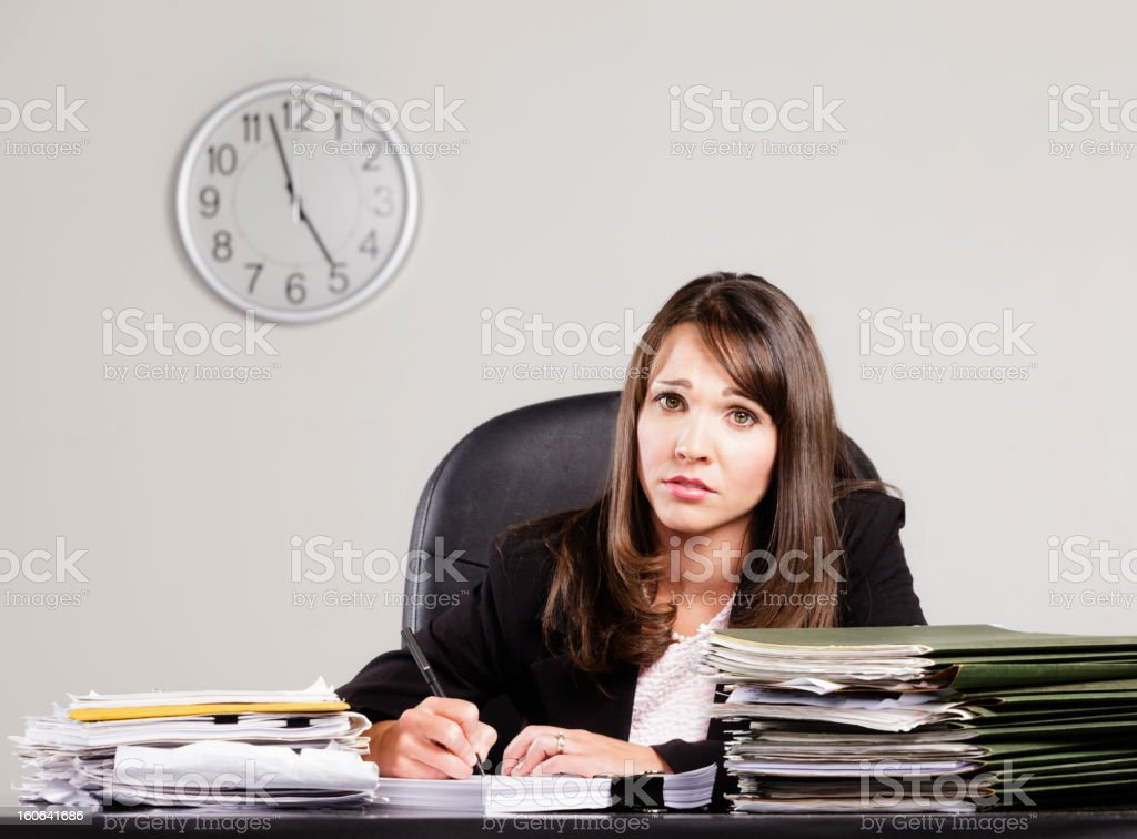 Quitting Time stock photo