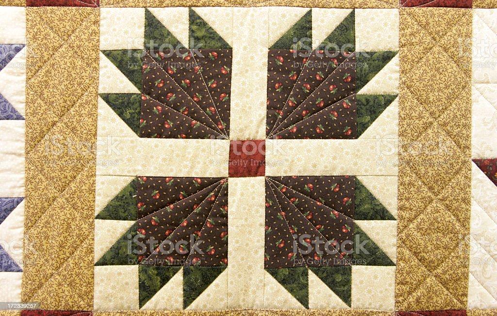 Qulit Patterns royalty-free stock photo