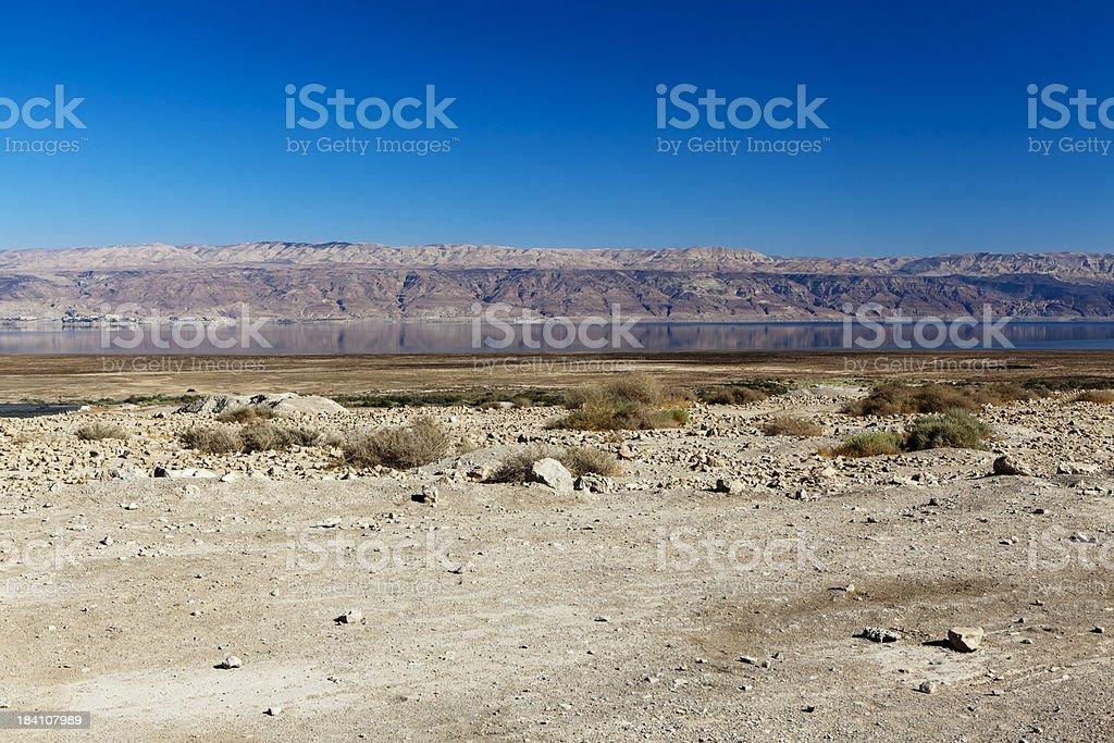Qumran, Israel stock photo