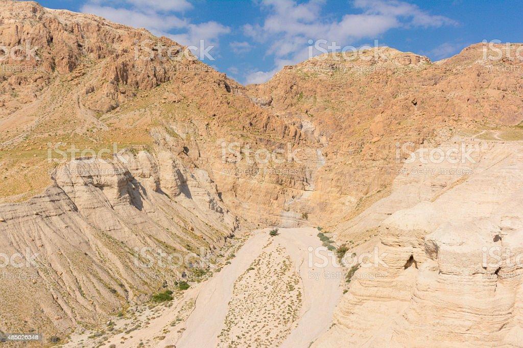Qumran, Israel. stock photo