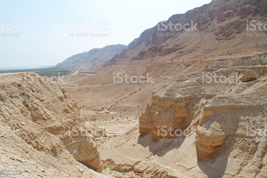 Qumran stock photo