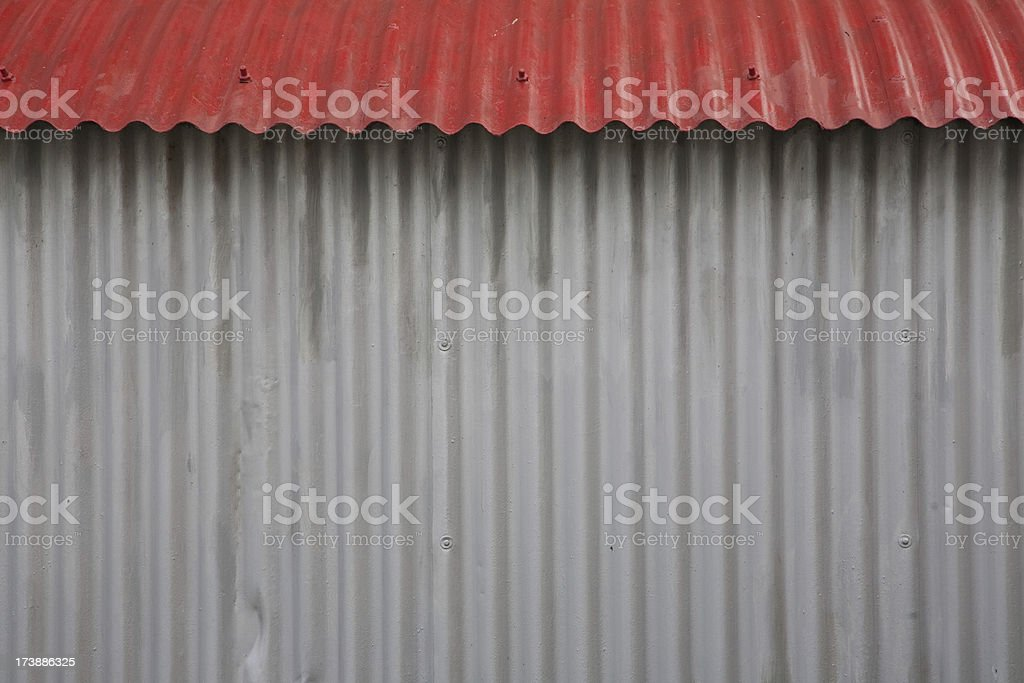 Quonset hut royalty-free stock photo