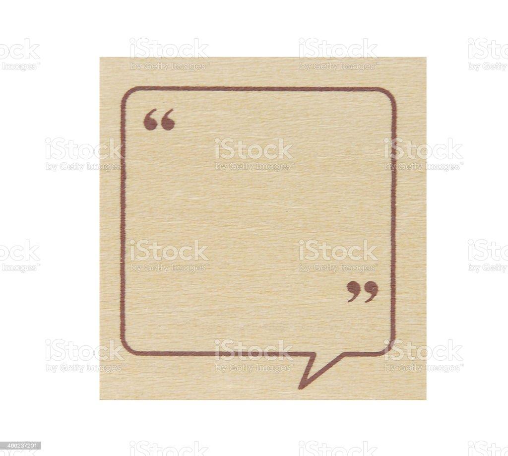 quotation marks stock photo