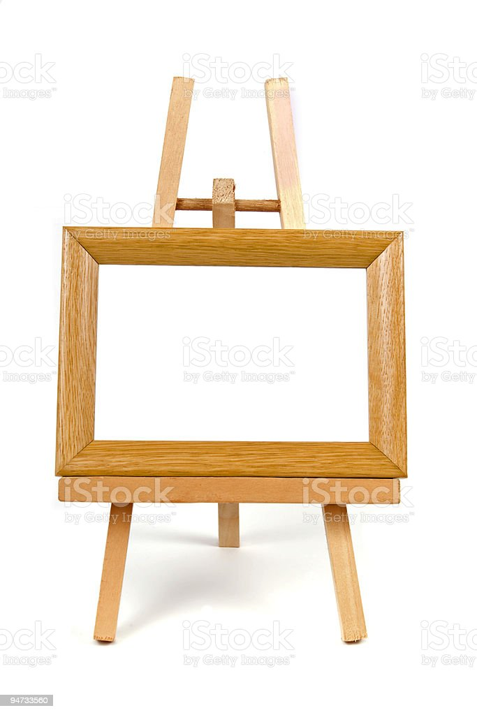 """easel"" royalty-free stock photo"