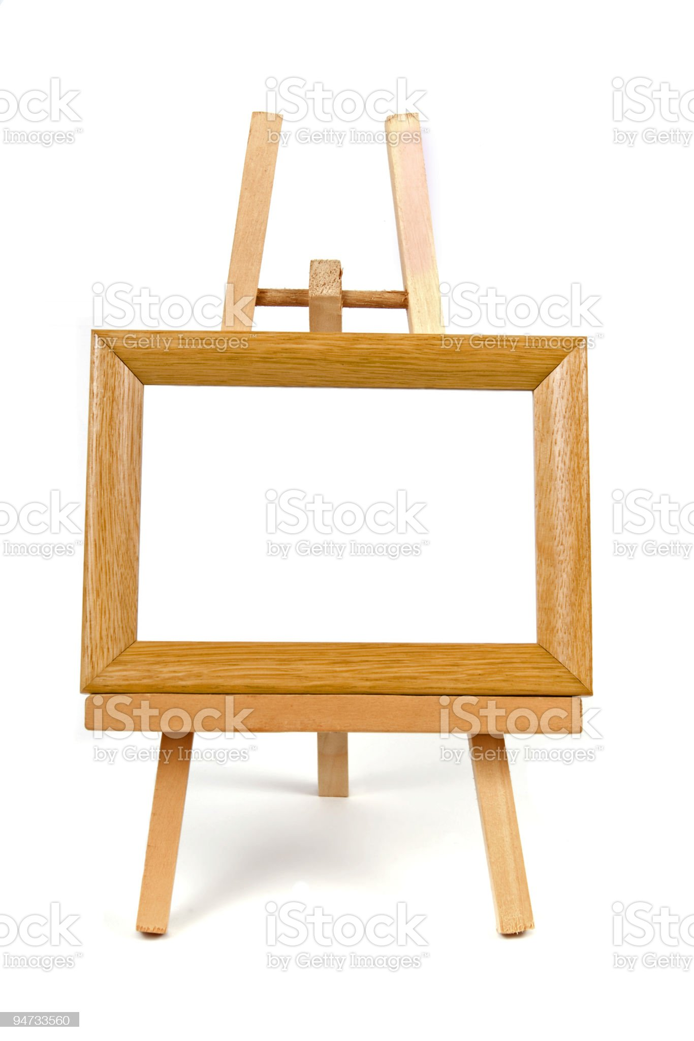 """""""easel"""" royalty-free stock photo"""