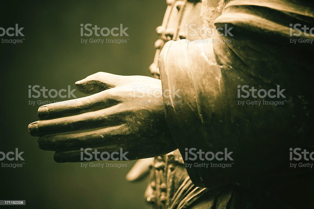 """""""handshake"""",Terracotta Army in Qin Shi Huang's Tomb royalty-free stock photo"""