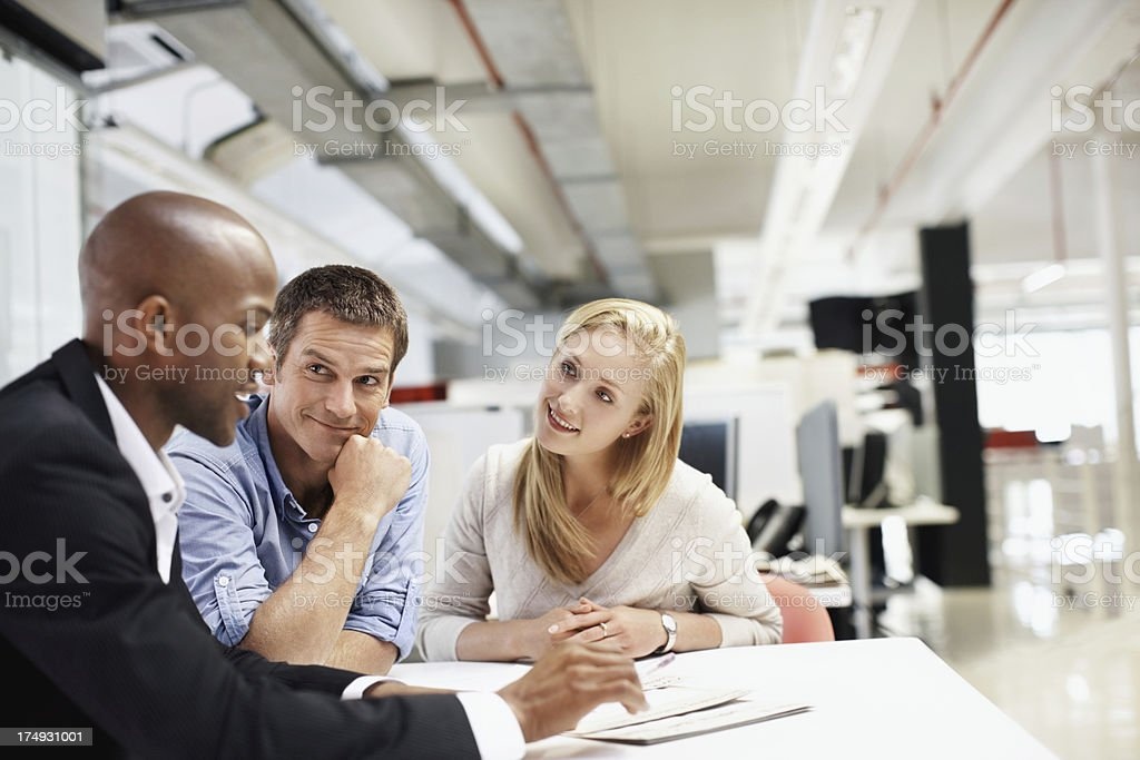 """""""I have an idea that you might like"""" royalty-free stock photo"""
