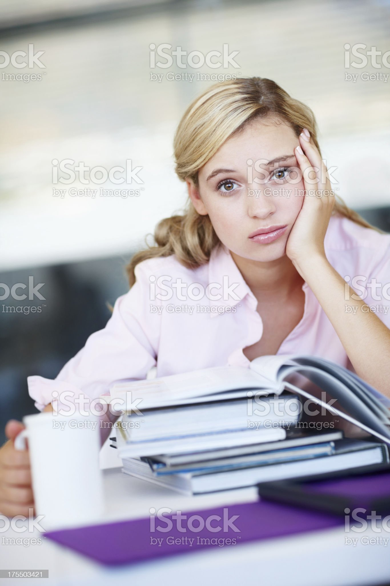 """I need to focus!"" royalty-free stock photo"