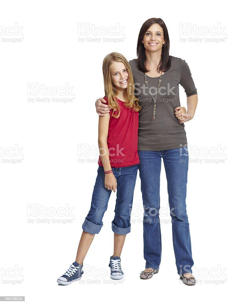 """I'm mom's little princess!"" royalty-free stock photo"