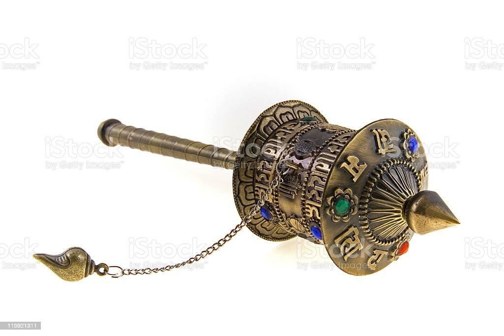 """prayer wheel"" royalty-free stock photo"